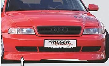 Rieger Frontal Alerón Labio Negro Mate para Audi A4 (B5): 99 - 12.00: Amazon.es: Coche y moto