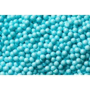 Shimmer Powder Blue Pearl Candy Beads 2 Pounds ()