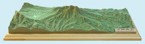 《完成品》 やまつみ 【七時雨山】 1/25,000 日本山岳遺産認定地