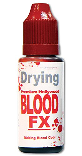 Tinsley Transfers Red Drying Blood Fx Makeup Adult Accessory, Multicolor