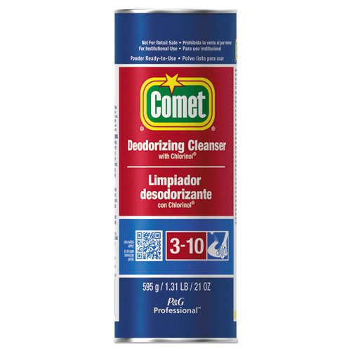 Comet Cleanser w/Chlorinol, Powder, 21 oz. Canister by Comet