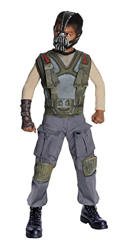 Bane Dark Knight Rises Deluxe Child Costumes (Deluxe Bane Child Costume - Large)