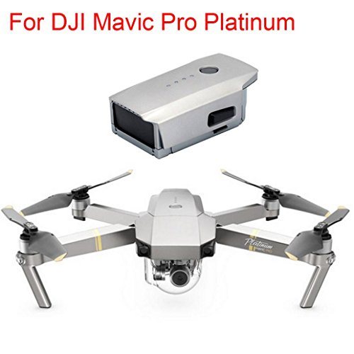 Kanzd 3830mAh Intelligent Flight Battery For DJI Mavic Pro Platinum Quadcopter Drone (Gold)