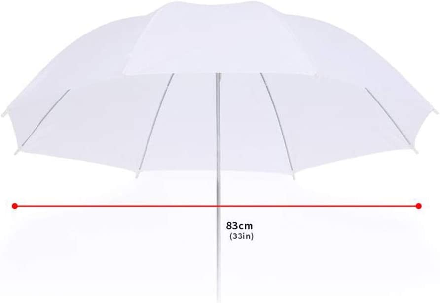KMCMYBANG Photographic Reflector 33 Inches White Professional Translucent Soft Umbrella Multi-Disc Light Reflector Soft Panel and Video Studio Shooting Photographic Light Board