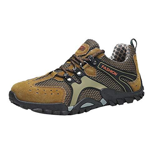 - YOcheerful Men's Casual Flat Shoes,Outdoor Water Shoes Pool Beach Swim Comfort Walking Travel Shoe