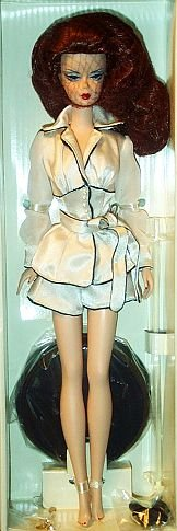 (Barbie Silkstone Suite Retreat Fashion Model Collection Gold Label 12