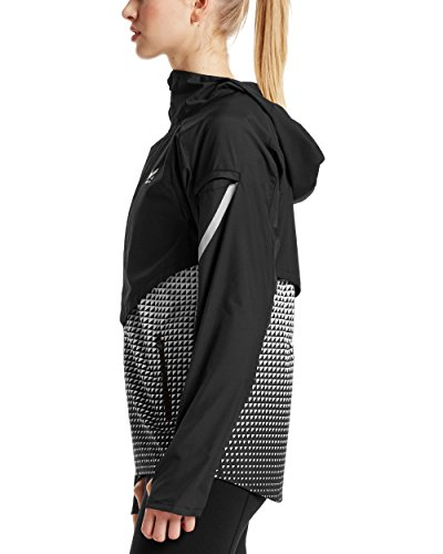 Mission Women's VaporActive Barometer Running Jacket, Moonless Night/Bright White Ombre, Small by Mission (Image #3)