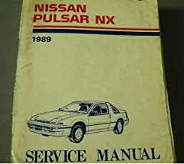1989 nissan pulsar nx n13 service shop repair manual nissan amazon rh amazon com 1989 Nissan 1989 Nissan Pulsar with T Top