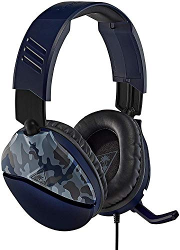 Turtle Beach Recon 70 Blue Camo Gaming Headset for Xbox One & Xbox Series X|S, PlayStation 5, PS4 Pro & PS4, Nintendo Switch, and Mobile