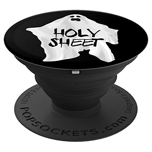 Holy Sheet Halloween Low Budget Costume - PopSockets Grip and Stand for Phones and Tablets