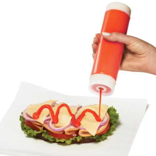 INVERTAtop ValveTop Squeeze Dispenser 24oz / 710ml | Squeeze Bottle, Condiment Dispenser, Sauce Dispenser Drinkstuff