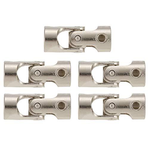 5pcs 5 to 4mm Full Metal Joint Cardan Couplings for Car Boat D90 SCX10 RC4WD GW