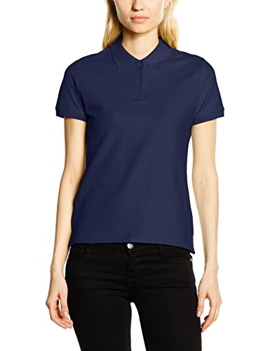 Fruit Loom Premium the of Blu Navy Polo Donna SqgrSn