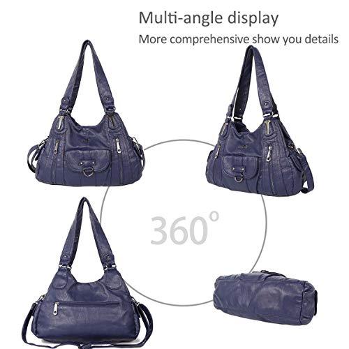 for bags hobo NICOLE Hobo shoulder DORIS vintage bags amp; large bags Blue women totes B0EHHqPWr