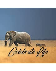 Guest Book: Funeral Guest Book Elephant, Memorial Service Guest Book, Sign In Book for Funeral Guests, Celebration Of Life, Graceful Elephant Cover Design