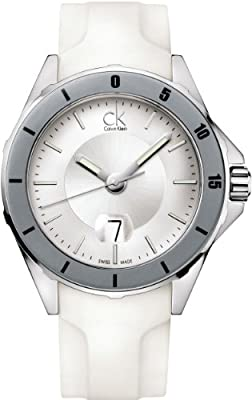 Calvin Klein Play Quartz White Dial Men's Watch - K2W21YM6