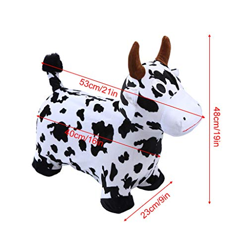 Ikevan_ 2019 Hopper Toy Hopping Horse, Outdoors Ride On Bouncy Animal Play Toys, Inflatable Hopper by Ikevan_ (Image #5)