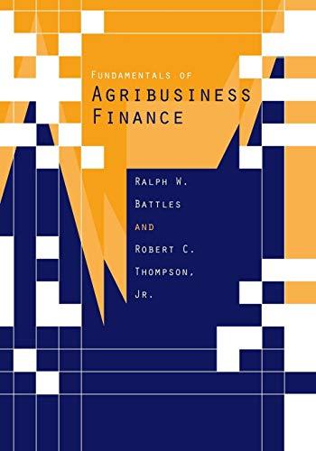 Fundamentals Agribusiness Financ
