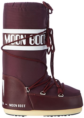 Moon Boot 14004400, Botas de Nieve Unisex Adulto Marrón (ANTHRACITE 5)
