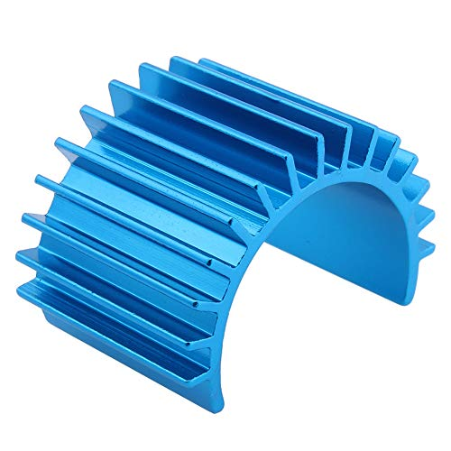 - Hobbypark Electric 380 Motor Heat Sink Cooling Fin Aluminum Alloy for Brushless/Brushed Blue/Purple (Blue)