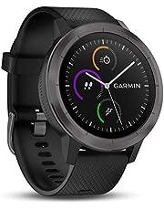 Garmin Vívoactive 3 Gps-Fitness-Smartwatch, Vooraf Geïnstalleerde Sport-Apps, Gunmetal