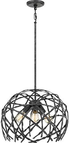 Quoizel QF4031OK Pantheon Metal Frame Pendant Ceiling Lighting
