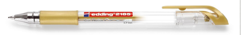 Penna con inchiostro in gel, punta 0,7 mm argento edding 4-2185054