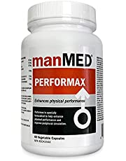 ManMED Performax Sexual Enhancer | Enhance Sexual Desire & Performance | Improve Peripheral Circulation Capsules (60 Count)
