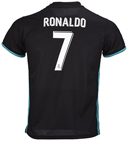 #7 Ronaldo Real Madrid Third Kid Soccer Jersey & Matching Sh
