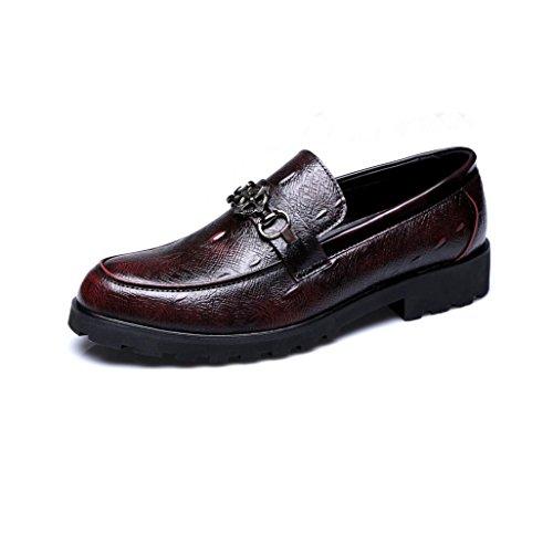 Noche Negocios Fiesta Cuero Zapatos De Y Oxford Formales Otoño 1KclFJ