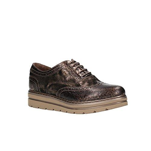 Zapatos Cordones Nero de para Marr A806371D Giardini Mujer Oqwq4Pz