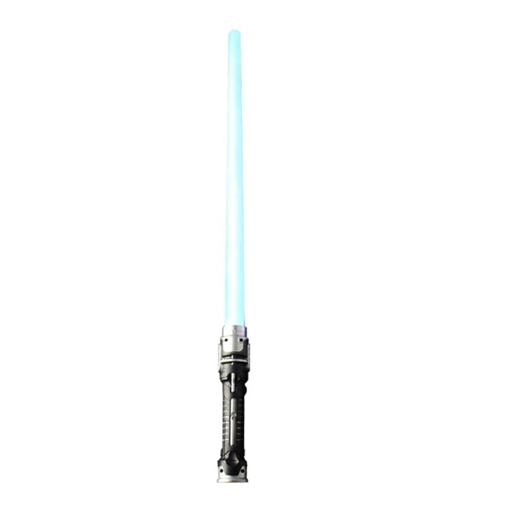 Flash épée 7 conversion de couleur bataille lumière jouet deux en un laser jouet son bleu clair deux pack flash épée jeu de rôle enfants simulation jouet (2 PCS)