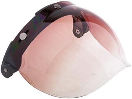PCレンズ オートバイ ヘルメット バブル バイザー 軽量設計 着用 快適 安全 Biltwell Bonanza用 - 5