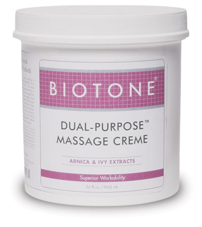 (Biotone Dual-Purpose Massage Creme, 36 Ounce )