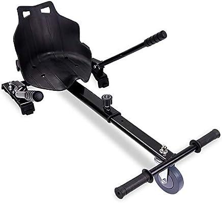 RCB Hoverkart para Hoverboard Asiento Kart para Patinete eléctrico Scooter Longitud Ajustable, Compatible con Todos los hoverboards - 6.5/8 / 8.5/10 ...