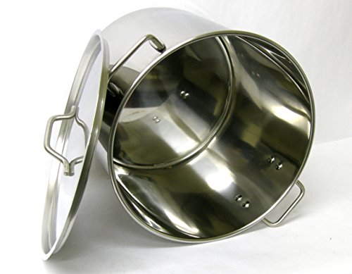 Kitchen, Dining & Bar 50 52 QT Quart Stainless Steel Stock P