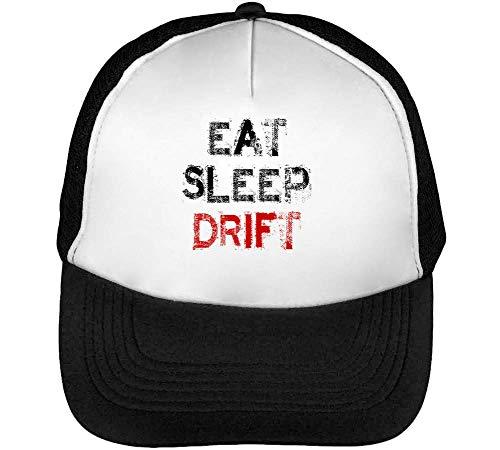 Snapback Sleep Beisbol Drift Dope Slogan Negro Gorras Eat Blanco Hombre UqYw0U