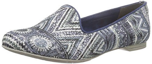 Marco Tozzi 24205 - Mocasines Mujer Azul
