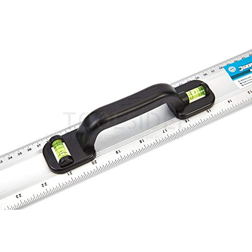 Silverline 1200 mm Aluminum Ruler with Handle