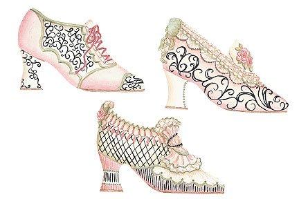 Wallies Antique Shoe Wallpaper Cutouts ()