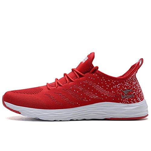 Chaussures Baskets Homme De Rouge Casual Femme Sneakers Running Sport Course dfSwfr
