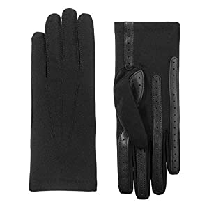 Isotoner Women's Spandex Cold Weather Stretch Gloves with Warm Fleece Lining