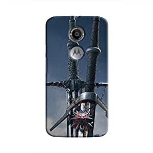 Cover It Up - Witcher Blades Moto X2 Hard Case
