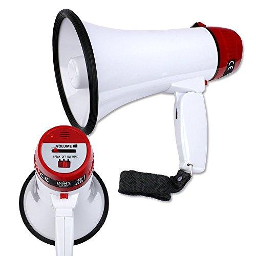 Schramm Onlinehandel Megaphone / Megafon inclusive 4 R14 Batterien (0265)