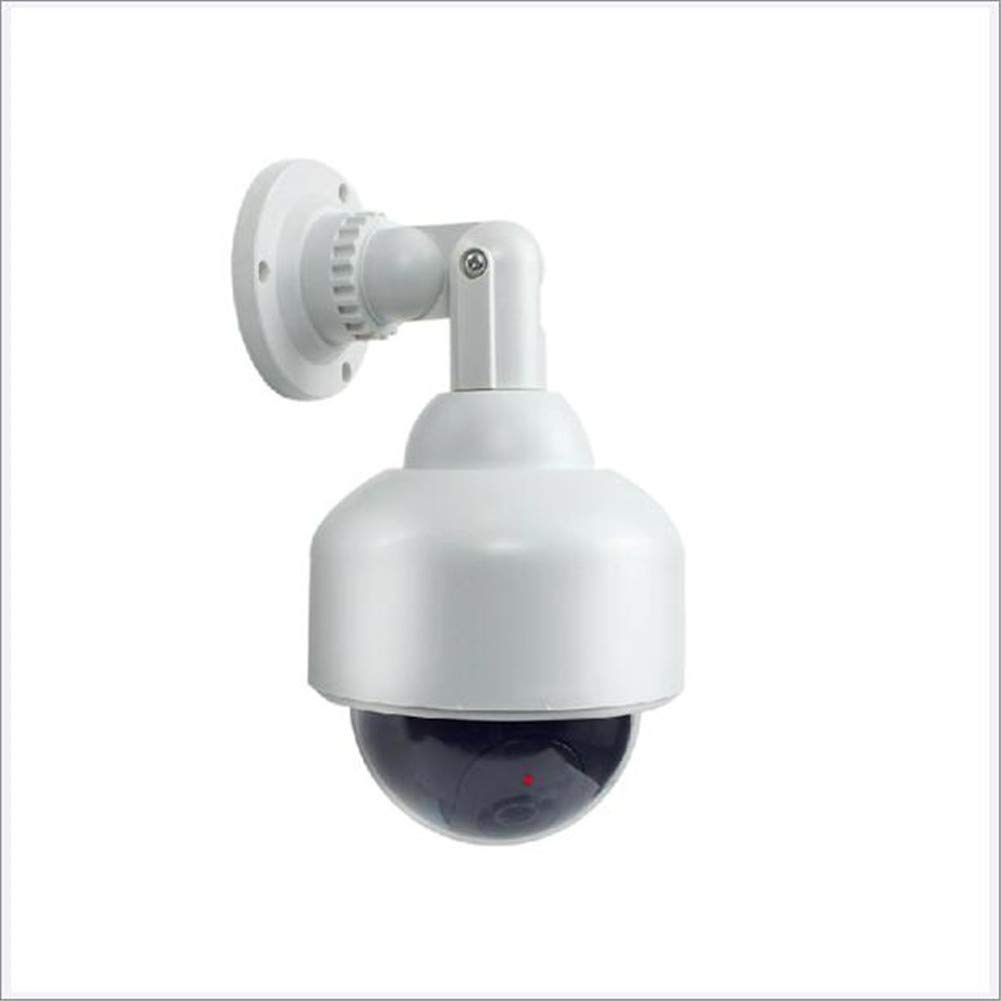 AXELELL Fake Security Camera, Dummy Camera Dome Shaped Decoy Realistic Lo