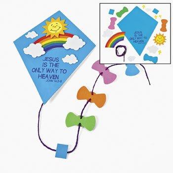 Inspirational Kite Door Sign Craft Kit - Crafts for Kids & Decoration Crafts