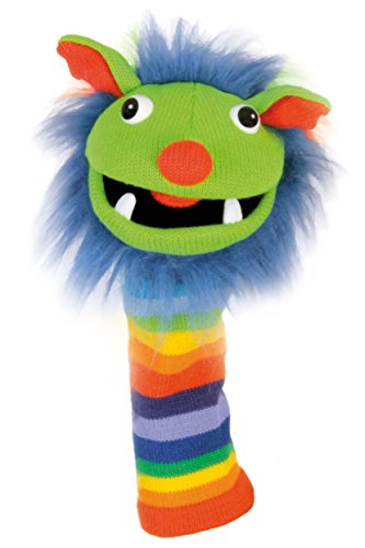 The Puppet Company – Knitted Puppet -Rainbow