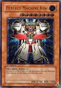 Yu-Gi-Oh! - Perfect Machine King (RDS-EN012) - Rise of Destiny - 1st Edition - Ultra - Gi Yu Machine Perfect Oh