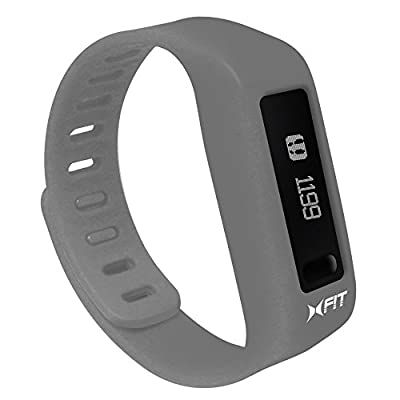 Xtreme Cables XFit Fitness Watch for Smartphones - Dark Gray