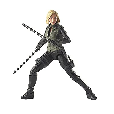 Avengers Marvel Legends Series 6-inch Black Widow: Toys & Games